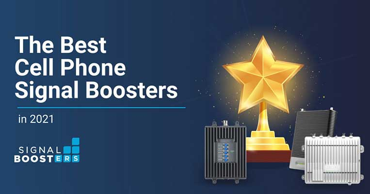 Best Cell Phone Signal Boosters 2021 Header