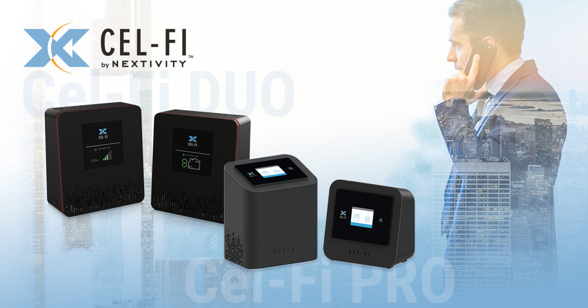 Cel-Fi Duo+ and Cel-Fi Pro Technology