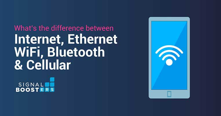 What's the Difference Between Internet, Ethernet, WiFi, Bluetooth, and Cellular?